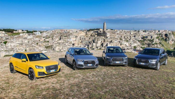 Audi Q: il nostro test dei SUV di Inglostadt in attesa di Q8, Q4 ed E-Tron - Foto 28 di 30