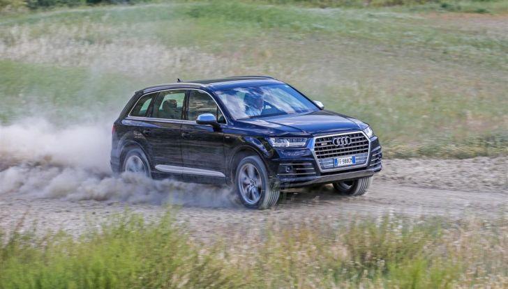 Audi Q: il nostro test dei SUV di Inglostadt in attesa di Q8, Q4 ed E-Tron - Foto 11 di 30