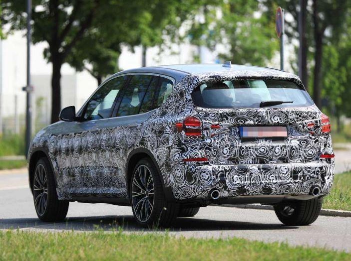BMW X3 2018, dettagli della nuova generazione del SUV - Foto 4 di 13
