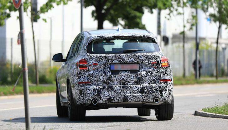 BMW X3 2018, dettagli della nuova generazione del SUV - Foto 7 di 13