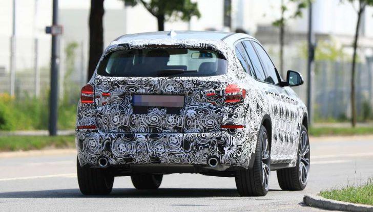 BMW X3 2018, dettagli della nuova generazione del SUV - Foto 8 di 13