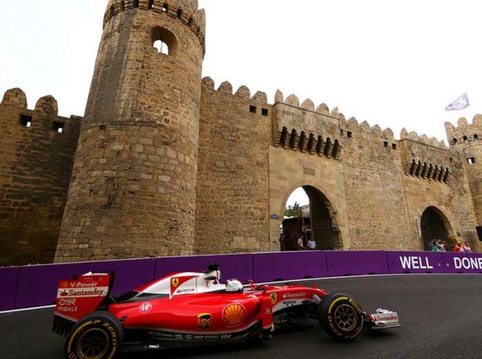 Orari F1 2017, il GP dell'Azerbaijan in diretta Sky e differita Rai - Foto 4 di 10