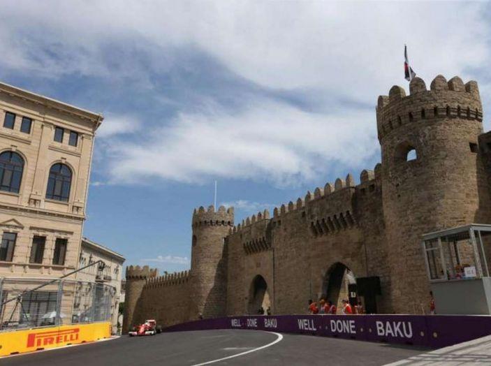 Orari F1 2017, il GP dell'Azerbaijan in diretta Sky e differita Rai - Foto 2 di 10