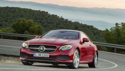 Mercedes Classe E Coupé 2017, la nostra prova tra due epoche