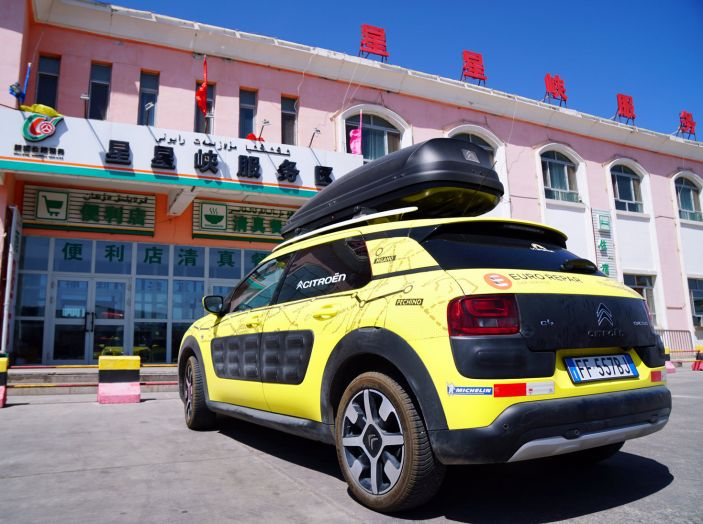 Citroën Avventura Gialla: dallo Xinjiang al Gansu i deserti senza fine! - Foto 2 di 7