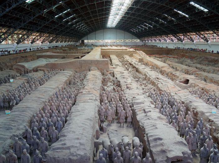 Citroën Avventura Gialla: in Cina alla scoperta dell'esercito di terracotta - Foto 4 di 8