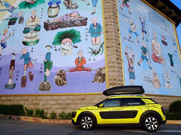 Citroën Avventura Gialla: la C4 Cactus termina il suo viaggio a Pechino - Foto 3 di 9