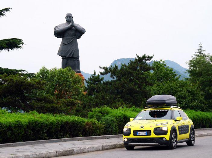 Citroën Avventura Gialla: la C4 Cactus termina il suo viaggio a Pechino - Foto 4 di 9