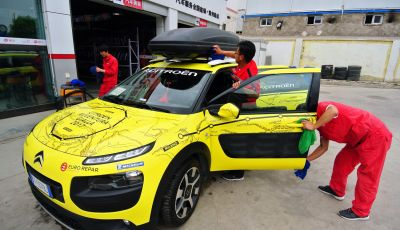 Citroën Avventura Gialla: in Cina alla scoperta dell'esercito di terracotta
