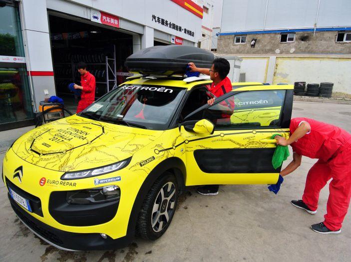 Citroën Avventura Gialla: in Cina alla scoperta dell'esercito di terracotta - Foto 1 di 8