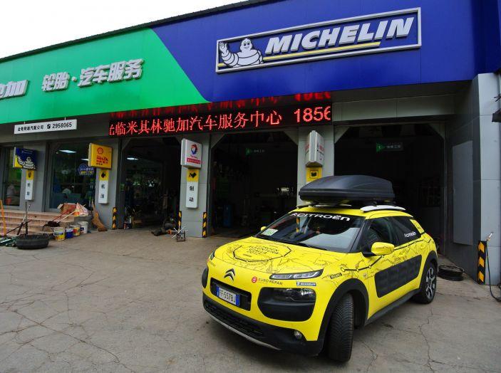 Citroën Avventura Gialla: la C4 Cactus termina il suo viaggio a Pechino - Foto 7 di 9