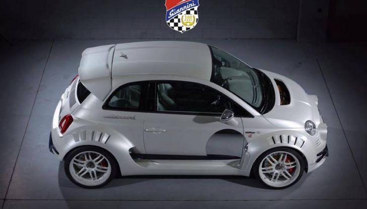 Giannini 350 GP Anniversario, la Fiat 500 da 350 CV - Foto 10 di 11