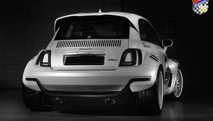 Giannini 350 GP Anniversario, la Fiat 500 da 350 CV - Foto 3 di 11