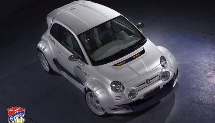 Giannini 350 GP Anniversario, la Fiat 500 da 350 CV - Foto 11 di 11