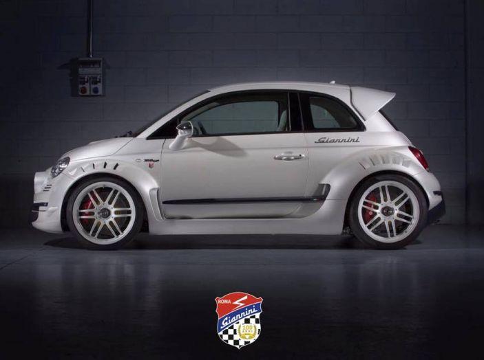 Fiat 500 Giannini: la super-citycar da 350 CV