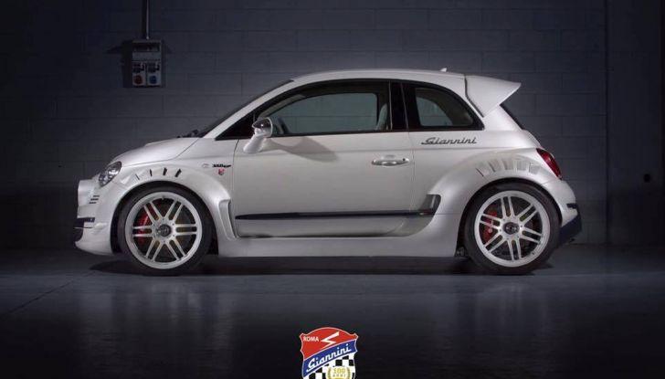 Giannini 350 GP Anniversario, la Fiat 500 da 350 CV - Foto 2 di 11