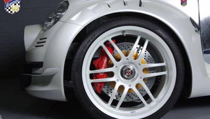 Giannini 350 GP Anniversario, la Fiat 500 da 350 CV - Foto 8 di 11