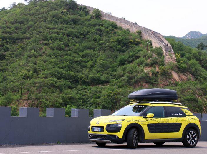 Citroën Avventura Gialla: la C4 Cactus termina il suo viaggio a Pechino - Foto 6 di 9
