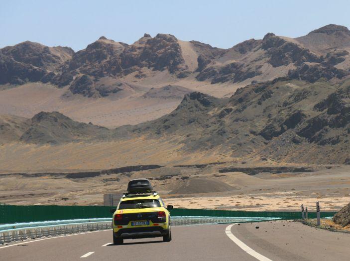 Citroën Avventura Gialla: dallo Xinjiang al Gansu i deserti senza fine! - Foto 4 di 7