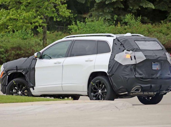 Jeep Cherokee restyling 2018: informazioni e gamma motori - Foto 11 di 21