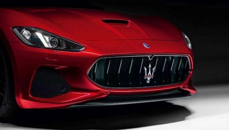 Maserati GranTurismo restyling, frontale rivisto e più connettività - Foto 5 di 5