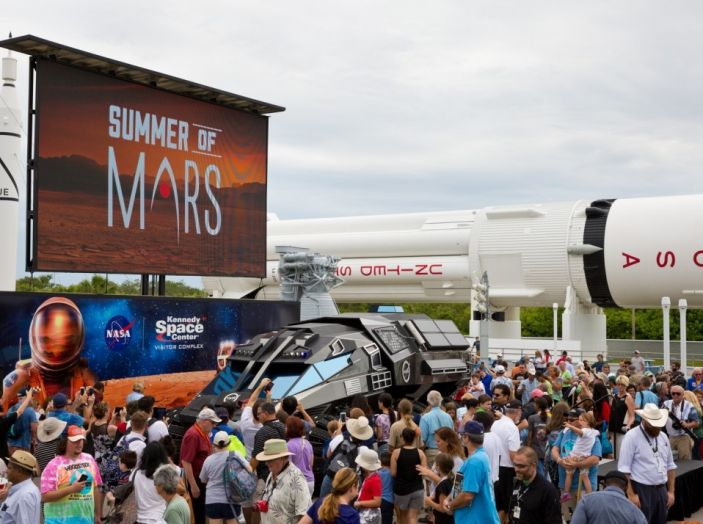 La NASA presenta il SUV per esplorare Marte al Kennedy Space Center - Foto 4 di 4