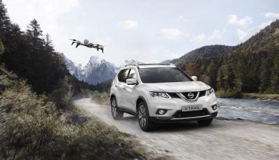 Nissan X-Trail X-Scape con drone Parrot