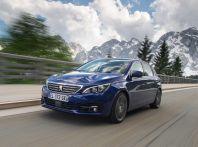 Peugeot 308: dinamica di guida