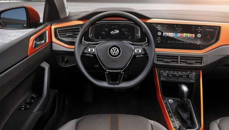 Nuova Volkswagen Polo 2018: dettagli, motori e allestimenti - Foto 11 di 24