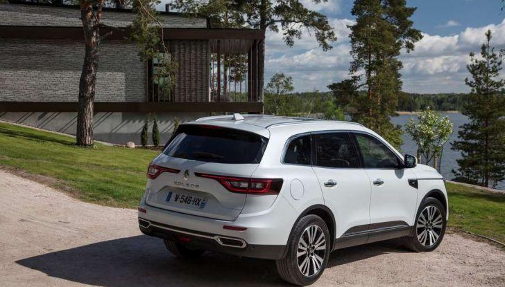 Nuovo Renault Koleos: prezzi, caratteristiche e consumi - Foto 14 di 18