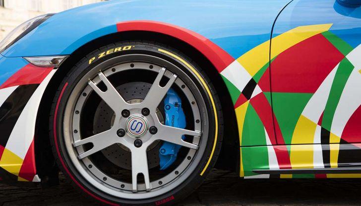 Pirelli e Ugo Nespolo protagonisti al Salone dell'Auto di Torino - Foto 2 di 8