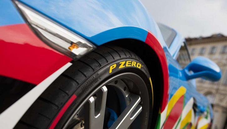 Pirelli e Ugo Nespolo protagonisti al Salone dell'Auto di Torino - Foto 4 di 8