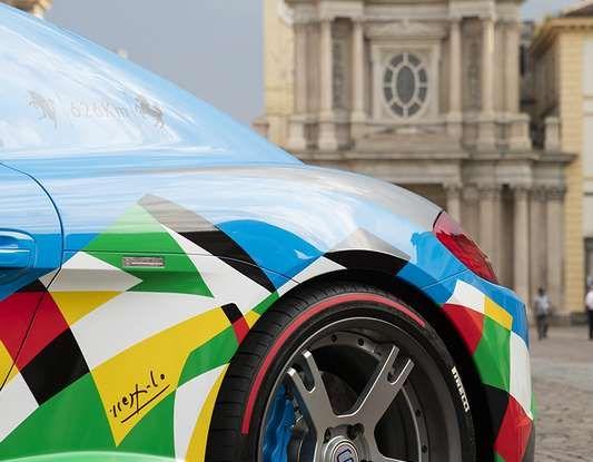 Pirelli e Ugo Nespolo protagonisti al Salone dell'Auto di Torino - Foto 3 di 8