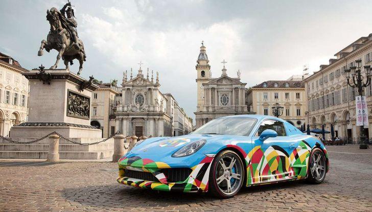 Pirelli e Ugo Nespolo protagonisti al Salone dell'Auto di Torino - Foto 5 di 8