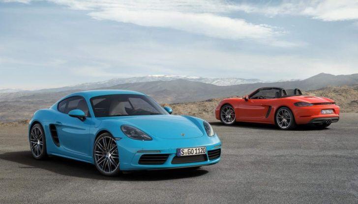 Prova comparativa tra Toyota Supra, Porsche Cayman S e Audi TT RS - Foto 11 di 28
