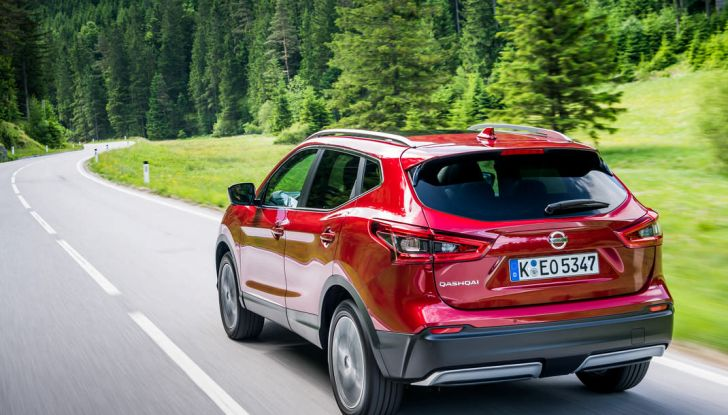 Nissan Qashqai in promozione da 19.250 Euro con formula Intelligent Bonus - Foto 43 di 46
