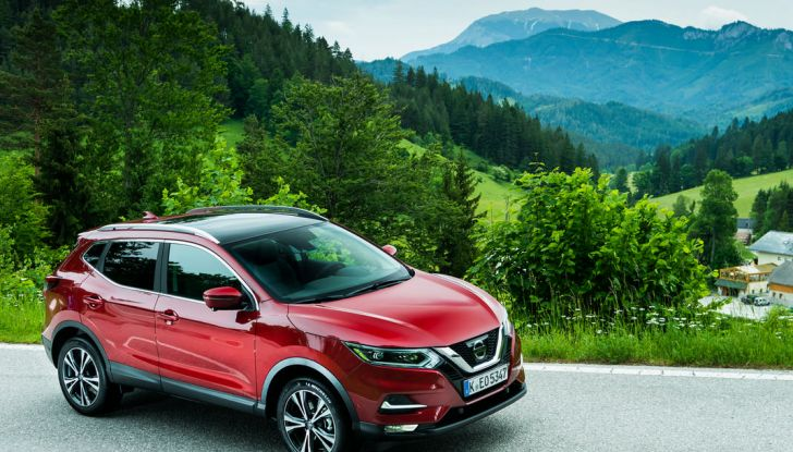 Nissan Qashqai in promozione: da 19.250€ con rate da 189€ al mese - Foto 44 di 46