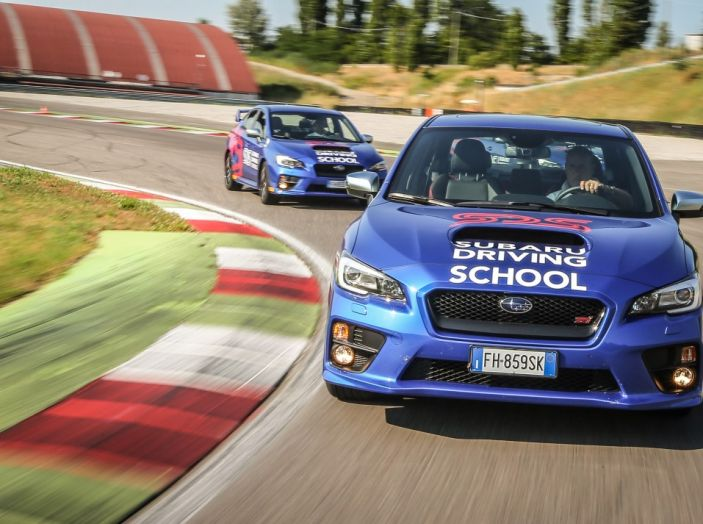 Subaru Driving School, tutti i segreti delle auto spinte al limite - Foto 14 di 38