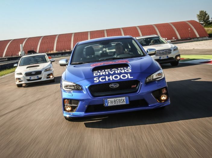 Subaru Driving School, tutti i segreti delle auto spinte al limite - Foto 2 di 38