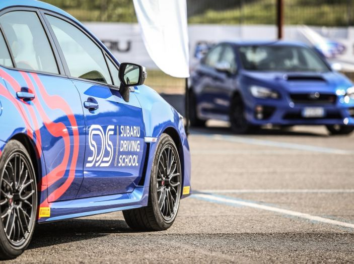 Subaru Driving School, tutti i segreti delle auto spinte al limite - Foto 29 di 38