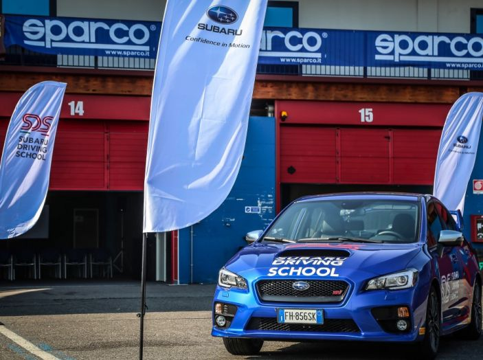 Subaru Driving School, tutti i segreti delle auto spinte al limite - Foto 34 di 38
