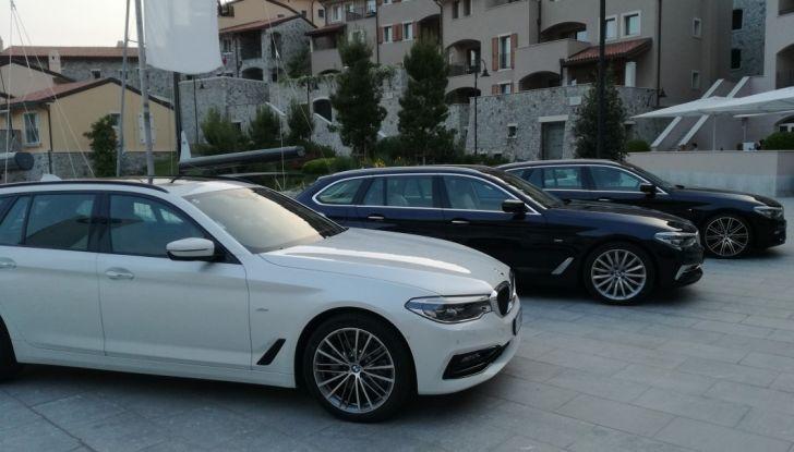 Nuova BMW Serie 5 Touring: Business Class su quattro ruote - Foto 29 di 31