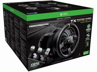 Thrustmaster TX Leather Edition, recensione del migliore volante per Xbox One