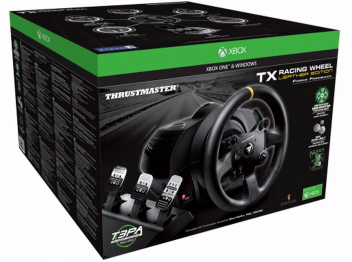 Thrustmaster TX Leather Edition, recensione del migliore volante per Xbox One - Foto 1 di 5