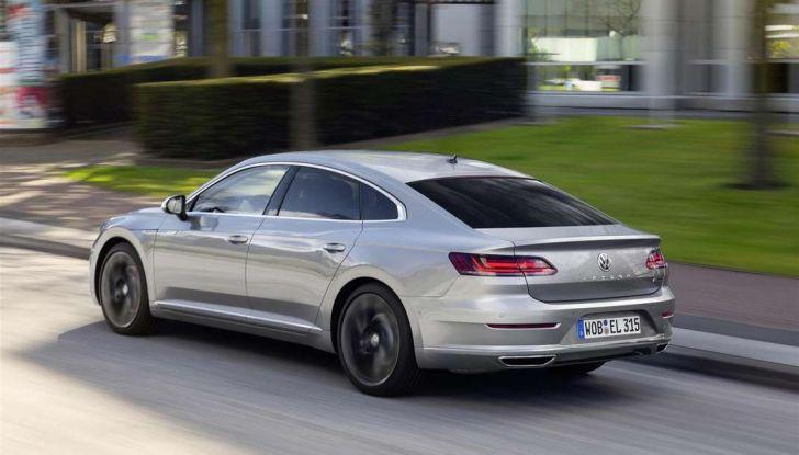 Volkswagen Arteon, informazioni e prezzi per l'Italia - Foto 12 di 14