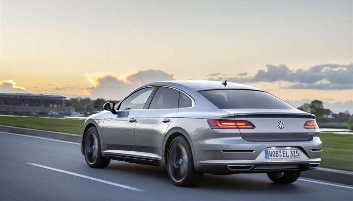 Volkswagen Arteon, informazioni e prezzi per l'Italia - Foto 14 di 14