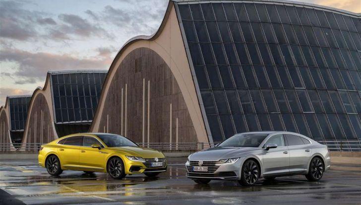 Volkswagen Arteon, informazioni e prezzi per l'Italia - Foto 3 di 14