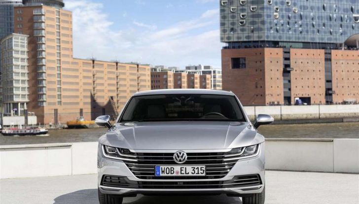Volkswagen Arteon, informazioni e prezzi per l'Italia - Foto 4 di 14