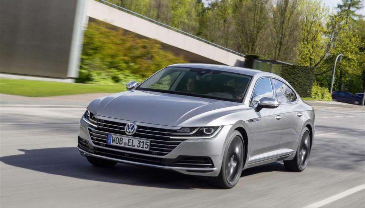 Volkswagen Arteon, informazioni e prezzi per l'Italia - Foto 1 di 14