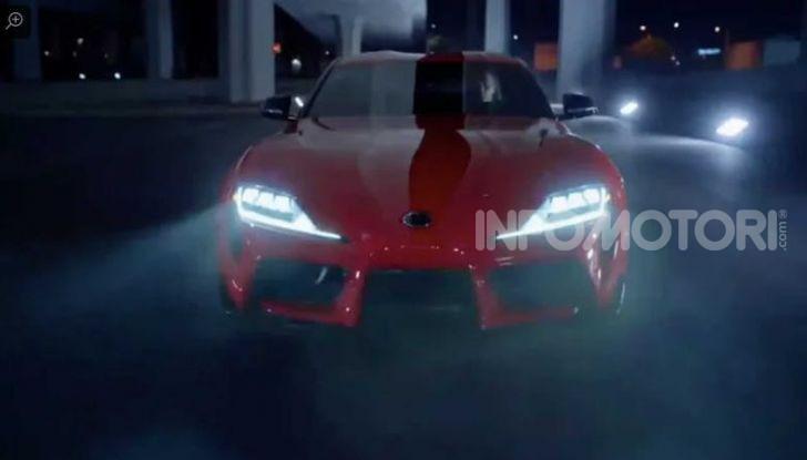 Toyota Supra 2019, il ritorno della leggenda - Foto 3 di 26